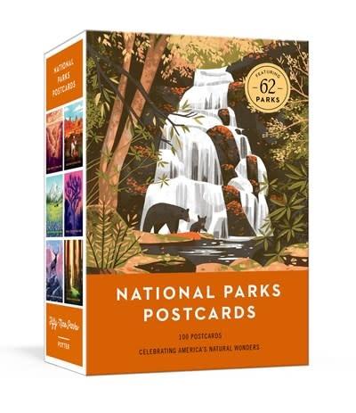 Clarkson Potter National Parks Postcards