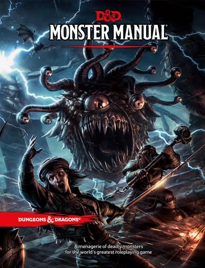 Wizards of the Coast Dungeons & Dragons Monster Manual (Core Rulebook, D&D Roleplaying Game)