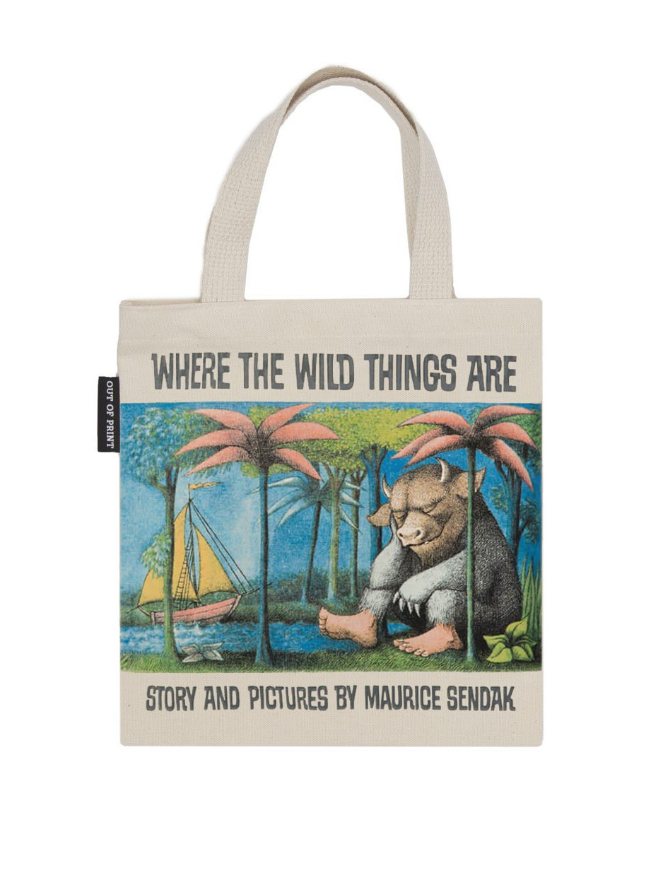 Out of Print Where the Wild Things Are Kids Tote