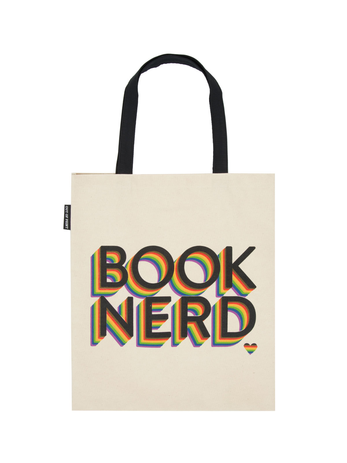 Out of Print Book Nerd Tote