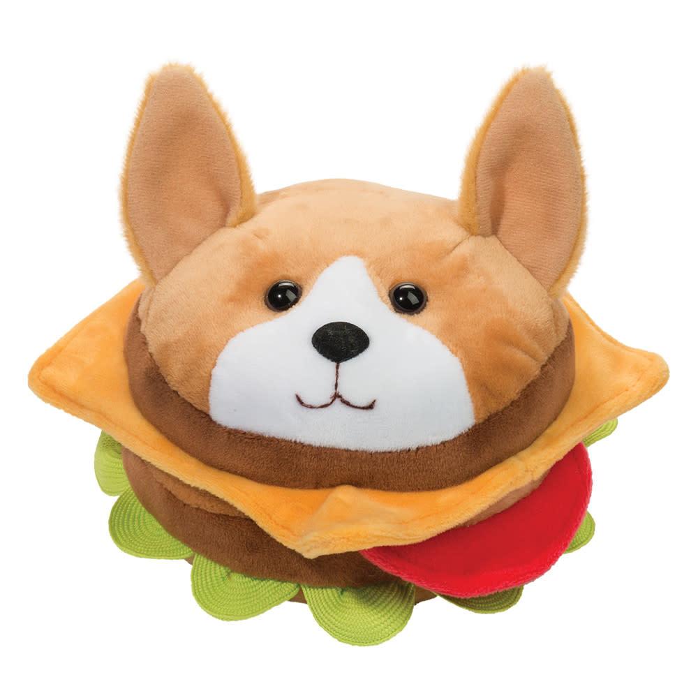 Douglas Toys Corgi Burger (Small Plush)