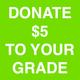 $5 Donation to Springer: 6th Grade