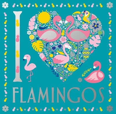 Sterling Children's Books I Heart Flamingos