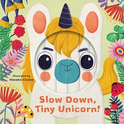 words & pictures Little Faces: Slow Down, Tiny Unicorn!