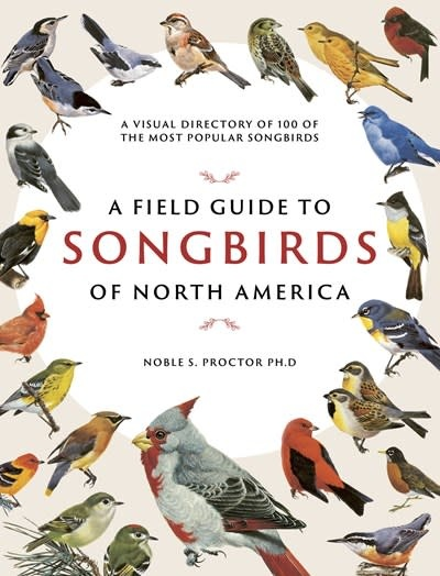 Chartwell Books A Field Guide to Songbirds of North America