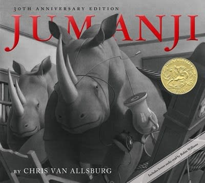 HMH Books for Young Readers Jumanji (30th Anniversary Edition)