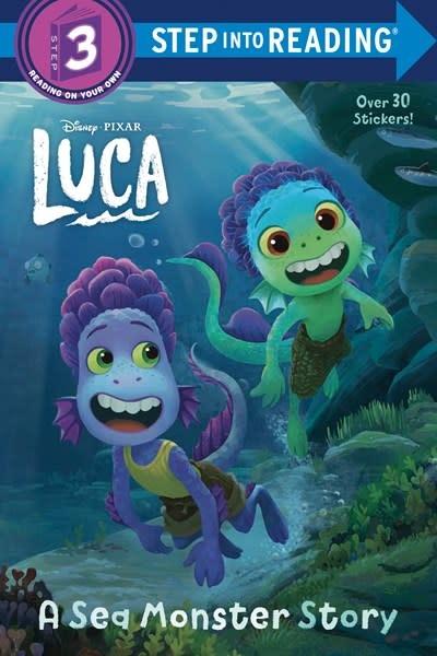 RH/Disney Disney/Pixar Luca Step into Reading: Step 3 (Disney/Pixar Luca)
