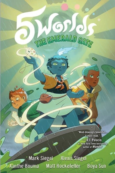 Random House Books for Young Readers 5 Worlds Book 5: The Emerald Gate
