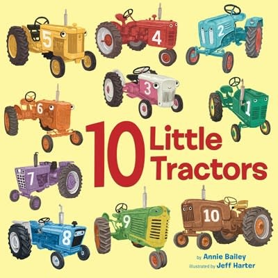 Doubleday Books for Young Readers 10 Little Tractors