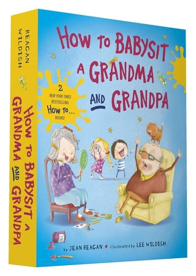 Knopf Books for Young Readers How to Babysit a Grandma and Grandpa Board Book Boxed Set