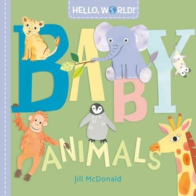 Doubleday Books for Young Readers Hello, World! Baby Animals