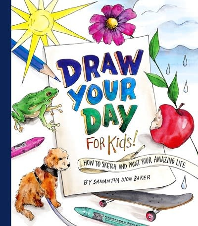 Crown Books for Young Readers Draw Your Day for Kids!