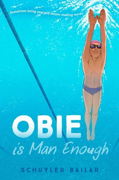 Crown Books for Young Readers Obie Is Man Enough