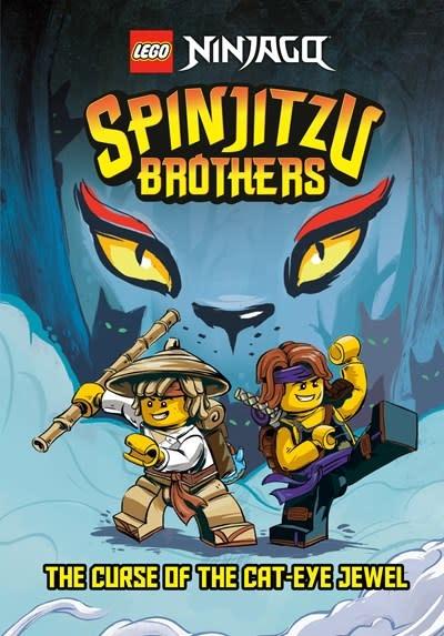 Random House Books for Young Readers Spinjitzu Brothers #1: The Curse of the Cat-Eye Jewel (LEGO Ninjago)