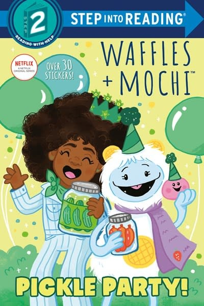 Random House Books for Young Readers Waffles + Mochi: Pickle Party! (Step-into-Reading, Lvl 2)
