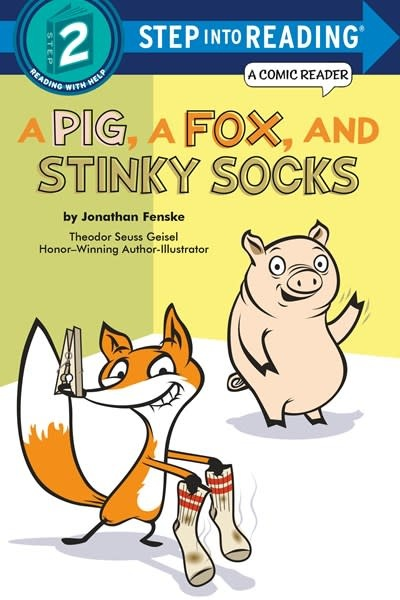 Random House Books for Young Readers A Pig, a Fox, and Stinky Socks