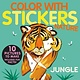 Tiger Tales Color with Stickers: Jungle