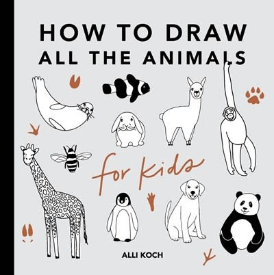 Paige Tate & Co All the Animals: How to Draw Books for Kids