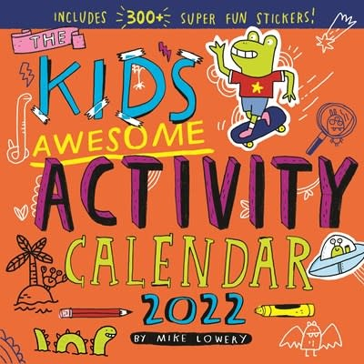 Workman Publishing Company Kid's Awesome Activity Wall Calendar 2022