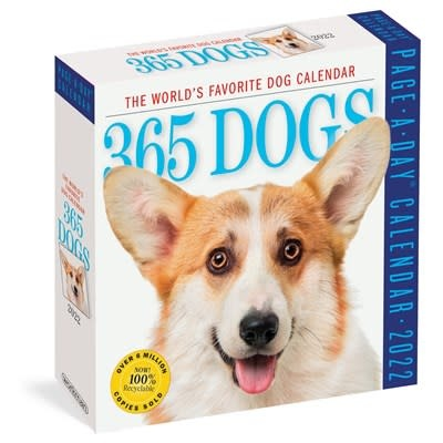Workman Publishing Company 365 Dogs Page-A-Day Calendar 2022