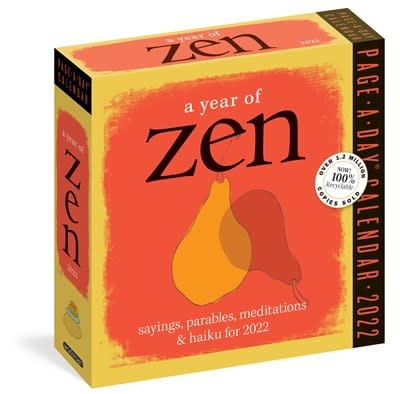 Workman Publishing Company A Year of Zen Page-A-Day Calendar 2022