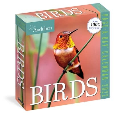 Workman Publishing Company Audubon Birds Page-A-Day Calendar 2022