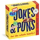 Workman Publishing Company 290 Bad Jokes & 75 Punderful Puns Page-A-Day Calendar 2022