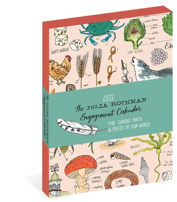 Workman Publishing Company Julia Rothman Farm, Food, Nature Engagement Calendar 2022