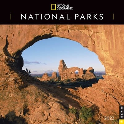 Universe Publishing National Geographic: National Parks 2022 Wall Calendar