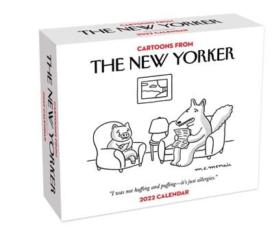 Andrews McMeel Publishing Cartoons from The New Yorker 2022 Day-to-Day Calendar
