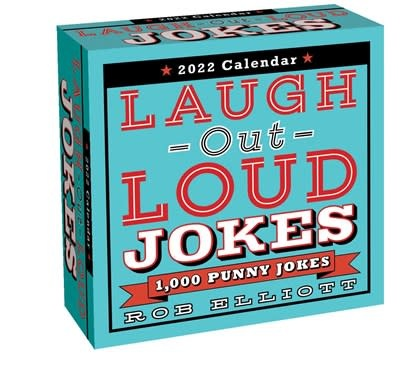 Andrews McMeel Publishing Laugh-Out-Loud Jokes 2022 Day-to-Day Calendar
