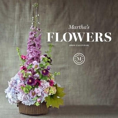 Andrews McMeel Publishing Martha's Flowers 2022 Wall Calendar