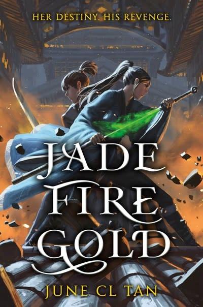 HarperTeen Jade Fire Gold