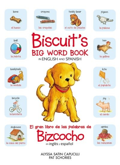 HarperCollins Espanol Biscuit's Big Word Book in English and Spanish