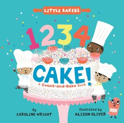 HarperFestival 1234 Cake!: A Count-and-Bake Book