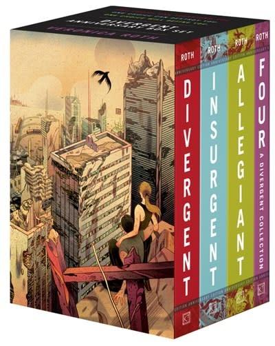 Katherine Tegen Books Divergent Anniversary 4-Book Box Set