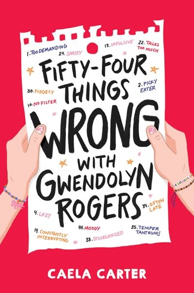 Quill Tree Books Fifty-Four Things Wrong with Gwendolyn Rogers