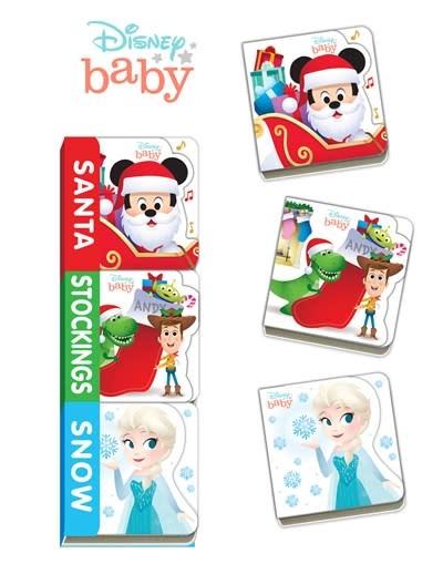 Disney Press Disney Baby Santa, Stockings, Snow
