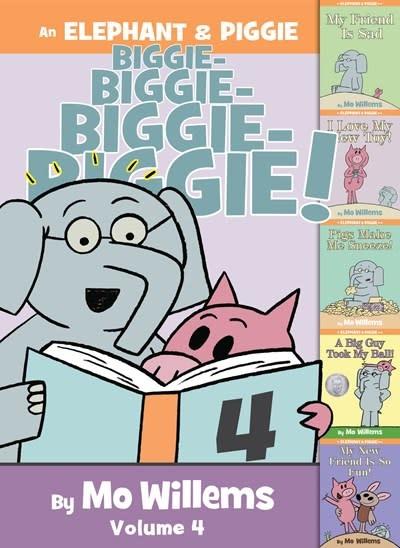 Hyperion Books for Children An Elephant & Piggie Biggie! Volume 4