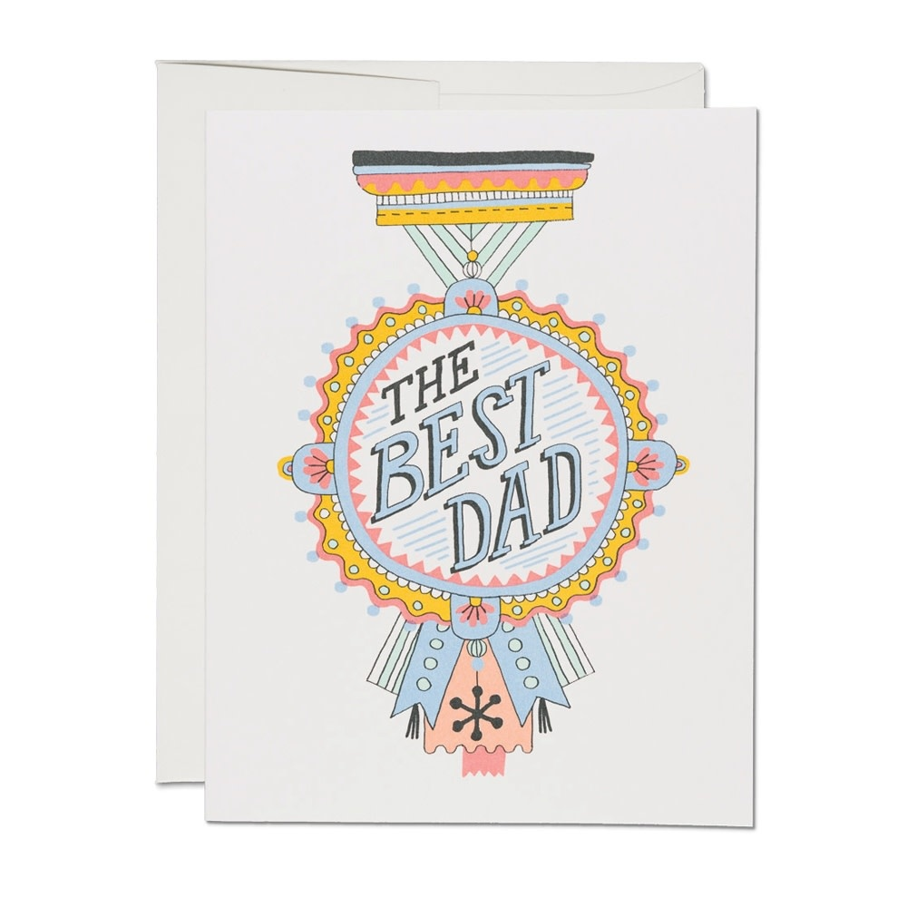 Dad Medal (Father's Day Card)