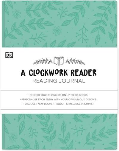 Alpha A Clockwork Reader Reading Journal