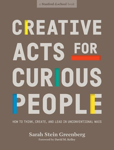 Ten Speed Press Creative Acts for Curious People