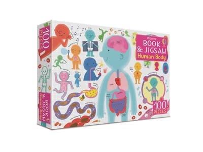 Usborne Human Body - Book & Jigsaw Puzzle