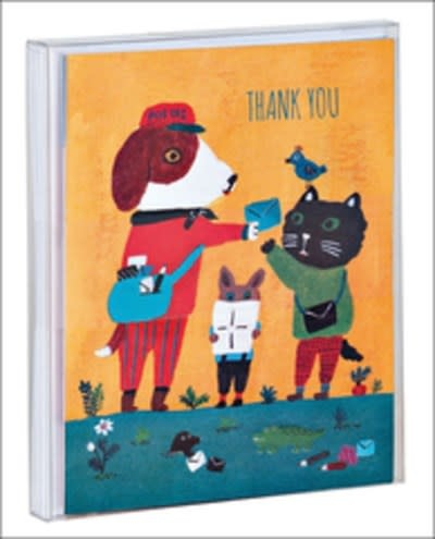 Doggy Thank You Notecard Set