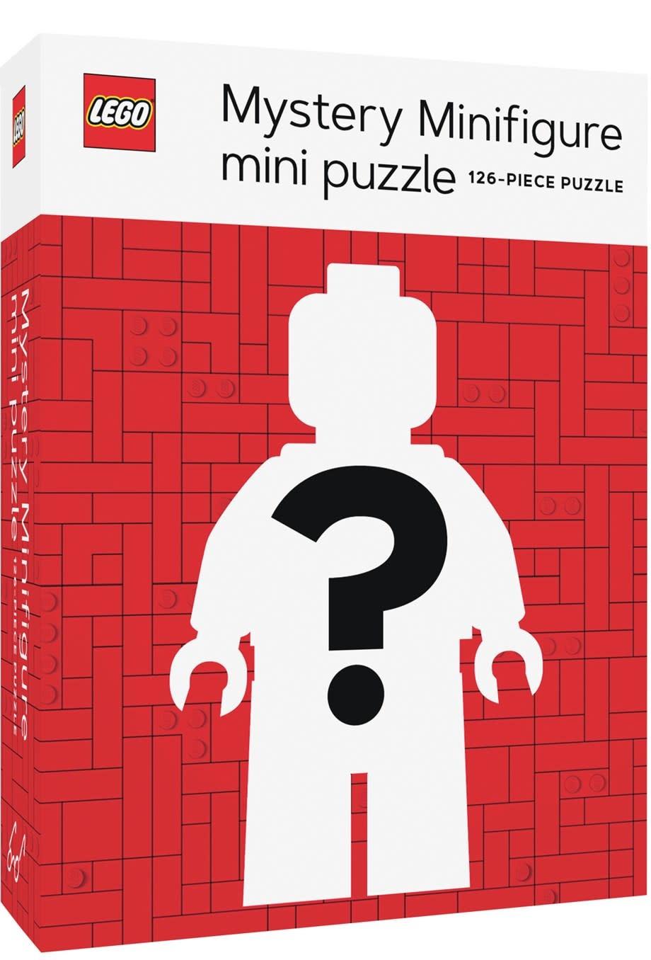 Chronicle Books LEGO Mystery Minifigure Puzzle