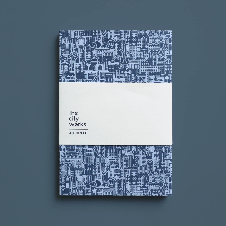 Hello World A5 Journal (Blue)