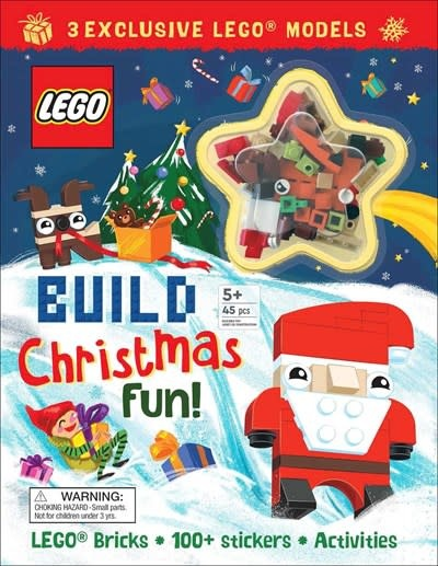 Printers Row LEGO(R) Iconic: Build Christmas Fun!