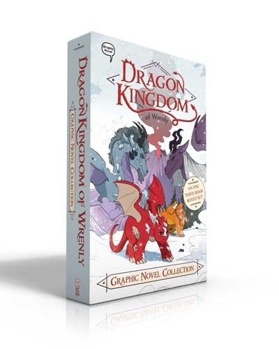 Little Simon Dragon Kingdom of Wrenly Graphic Novel Collection