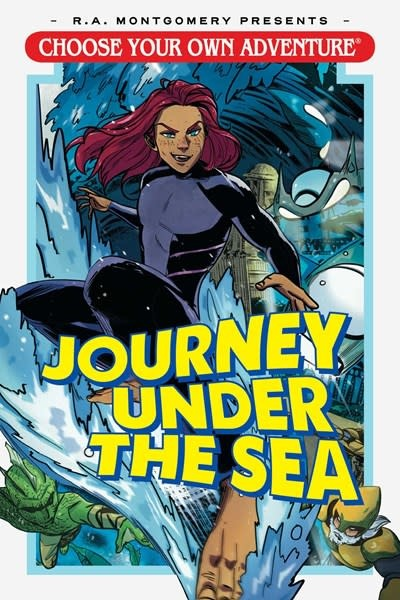 Oni Press Choose Your Own Adventure: Journey Under the Sea