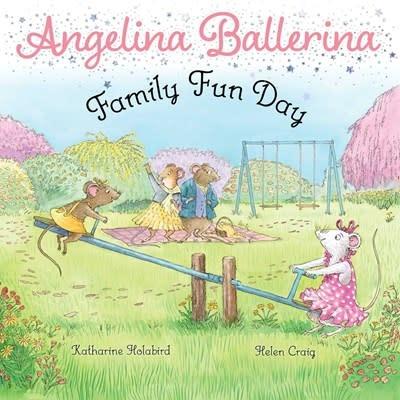 Simon Spotlight Angelina Ballerina: Family Fun Day